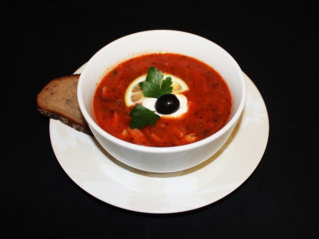 Solyanka - Russian & Ukranian soup