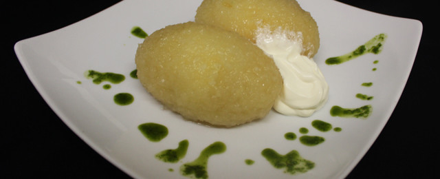 Zeppelins with curd (v)