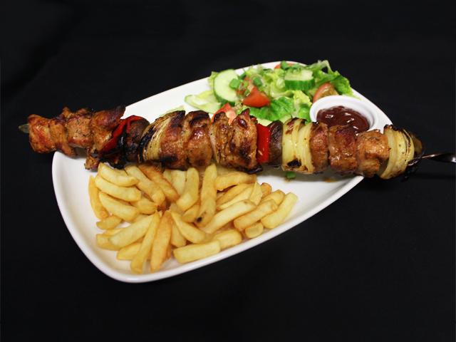 Pork shashlik
