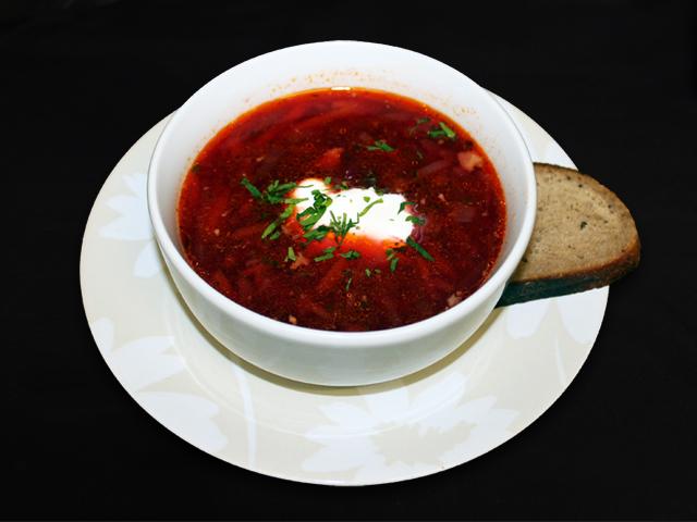 Borscht - Russian & Ukranian soup
