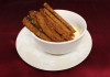 Deep fried brown bread with garlic and addition of melted £4.99 cheese dip