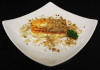 House special feta cheese with honey and walnuts